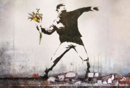 "Banksy, ""Wall and piece"""